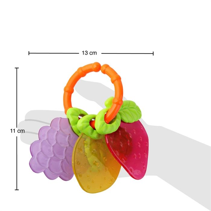 Kanz Babyzz Renkli Meyve Dişlik