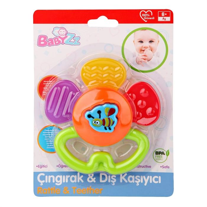 Kanz Babyzz Renkli Papatya Dişlik