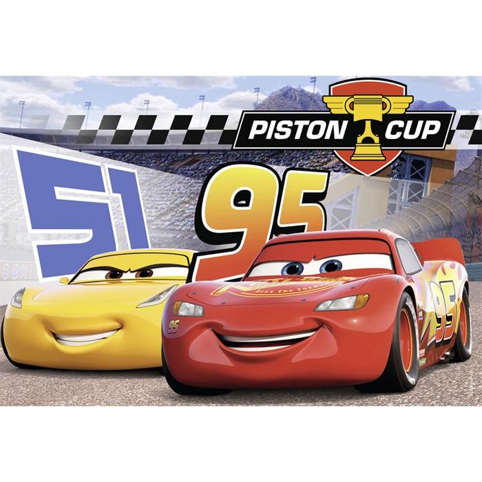Ravensburger 2x12 Parçalı Puzzle Walt Disney Cars3 - 076093