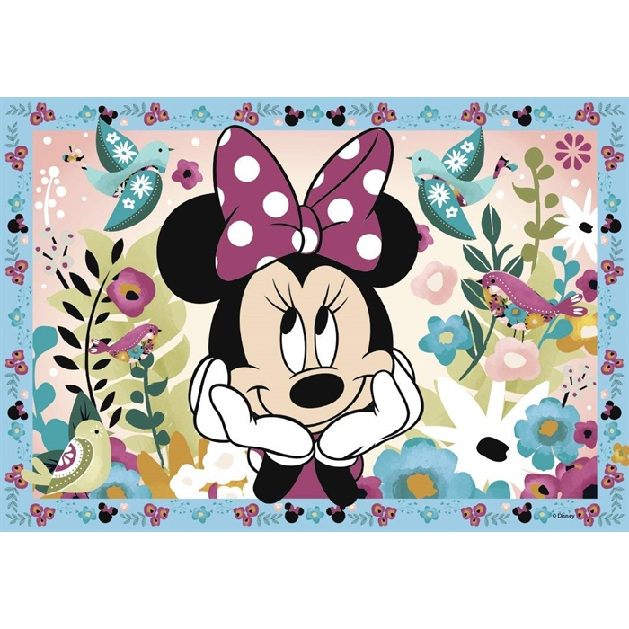 Ravensburger 2x12 Parçalı Puzzle Walt Disney Minnie - 076192