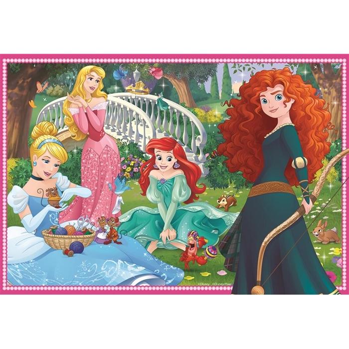 Ravensburger 2x12 Parçalı Puzzle Walt Disney Princess - 076208