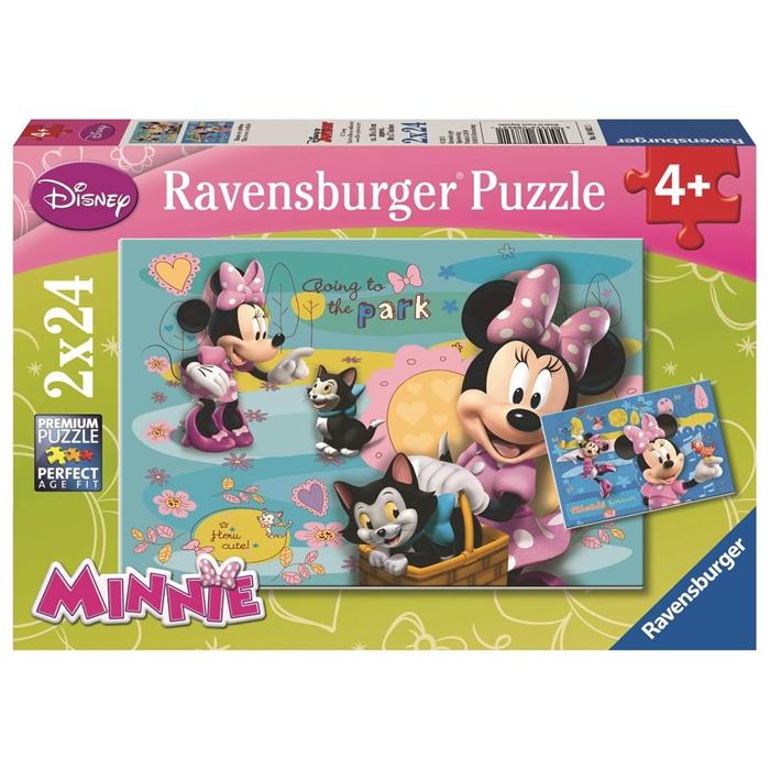 Ravensburger 2x24 Parçalı Puzzle Walt Disney Minnie Mouse - 088621