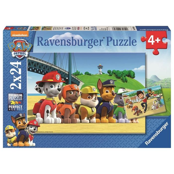 Ravensburger 2x24 Parçalı Puzzle Paw Patrol - 090648