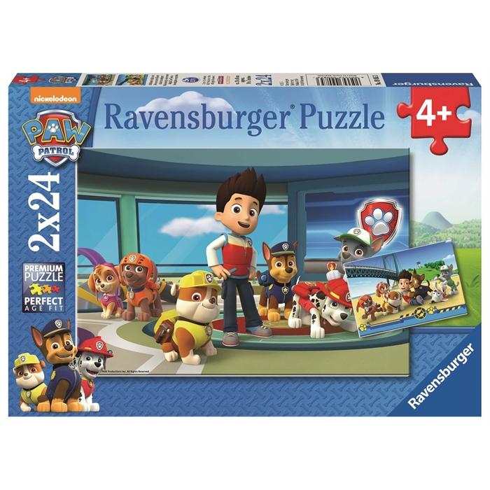 Ravensburger 2x24 Parçalı Puzzle PP Y. Dedektifler - 090853