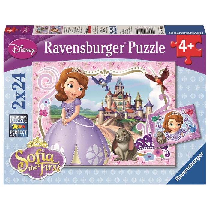 Ravensburger 2x24 Parçalı Puzzle Sophia´nin Macerası - 090860