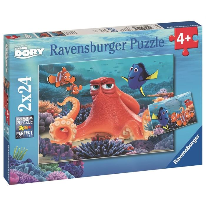 Ravensburger 2x24 Parçalı Puzzle Walt Disney F Dory - 091034