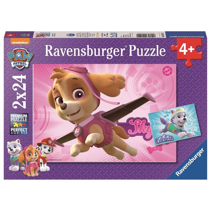 Ravensburger 2x24 Parçalı Puzzle Paw Patrol - 091522