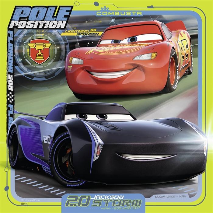 Ravensburger 3x49 Parçalı Puzzle Walt Disney Cars3 - 080151