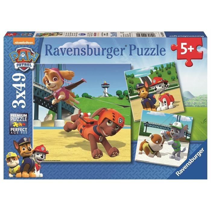 Ravensburger 3x49 Parçalı Puzzle PP Takım - 092390