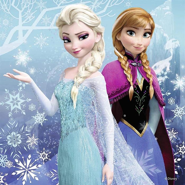 Ravensburger 3x49 Parçalı Puzzle Walt Disney Frozen Kıs Macerası - 092642