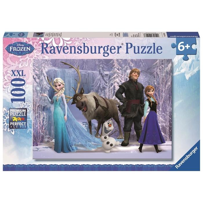 Ravensburger Süper 100 Parçalı Puzzle Walt Disney Frozen - 105168