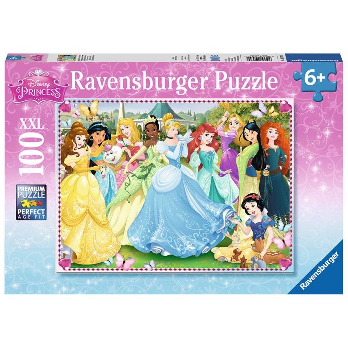 Ravensburger 100 Parçalı Puzzle Walt Disney Prenses - 105700