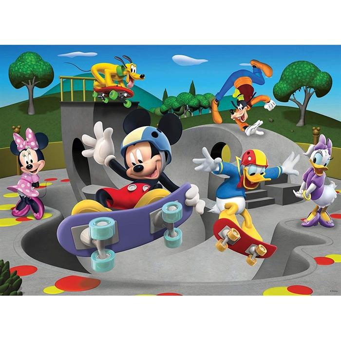 Ravensburger Süper 100 Parçalı Puzzle Mickey Club House - 108718