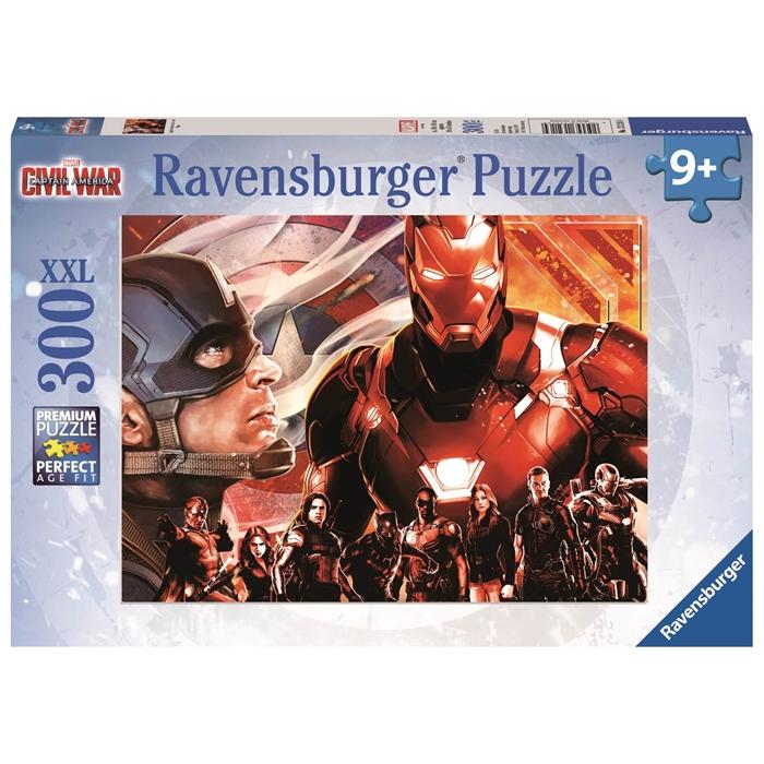 Ravensburger 300 Parçalı XXL Puzzle Captain America - 132164