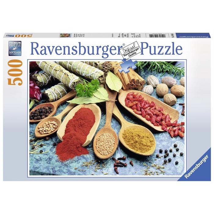 Ravensburger 500 Parçalı Puzzle Baharatlar - 146451