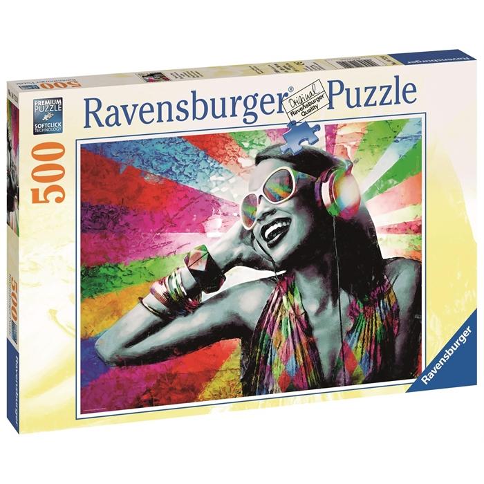 Ravensburger 500 Parçalı Puzzle Müzik & Renkler - 147120