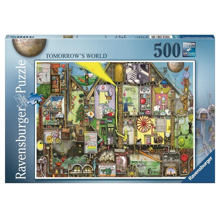 Ravensburger 500 Parçalı Puzzle Yarının Dünyası - 147311