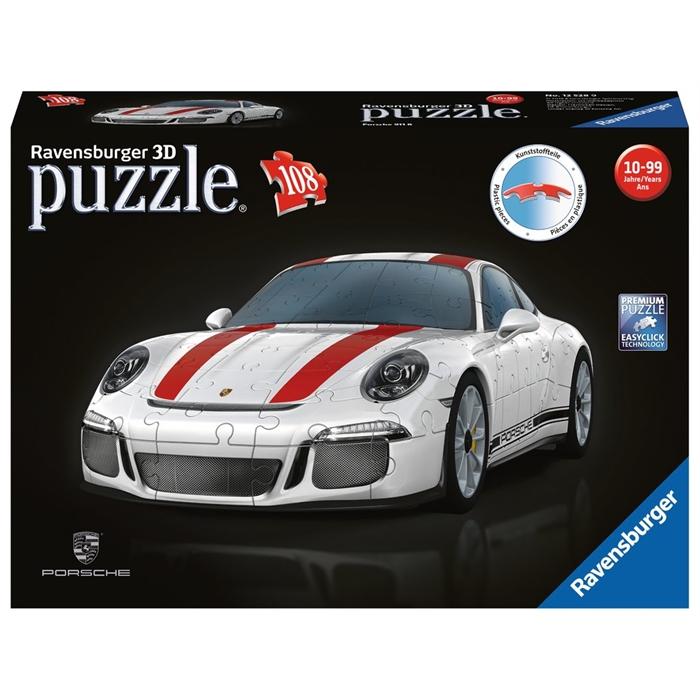 Ravensburger 3 Boyutlu 108 Parçalı Plastik Puzzle Porshe - 125289