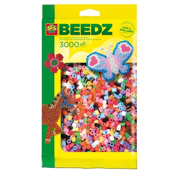 SES Creative Beedz - Ütü Boncukları 3000 Parça