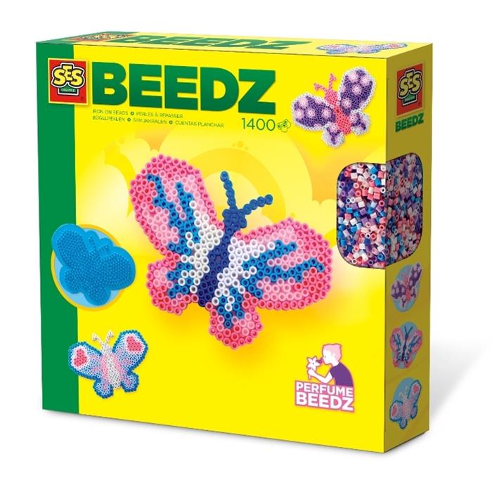SES Creative Beedz - Ütü Boncuk Seti - Kelebekler - Kokulu