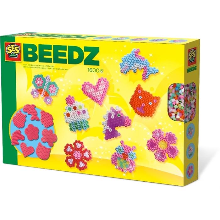 SES Creative Beedz - Ütü Boncuk Seti - Mini Figürler