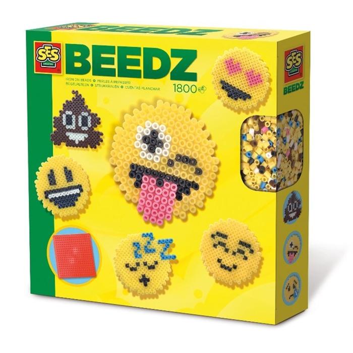 SES Creative Beedz - Ütü Boncuk Seti - Emojiler