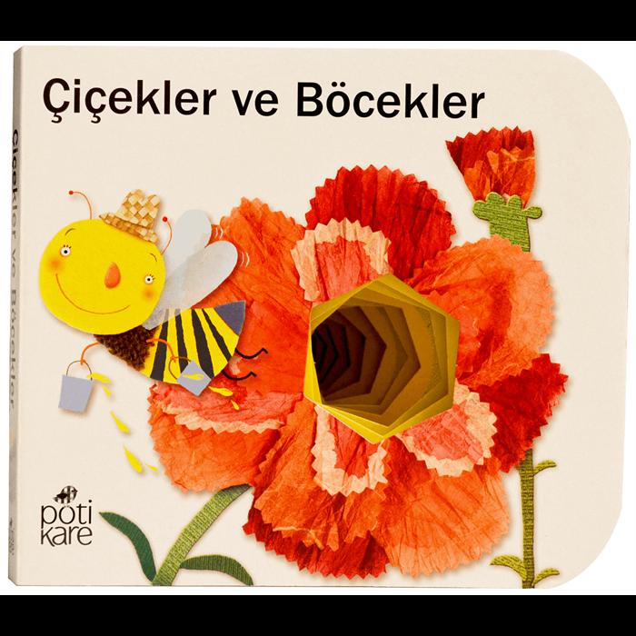 Delikli Kitaplar - Çiçekler ve Böcekler