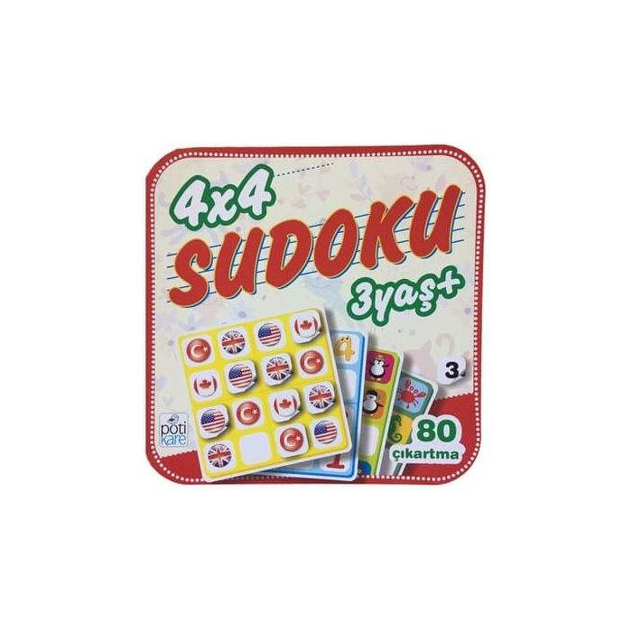 4X4 Sudoku - 3