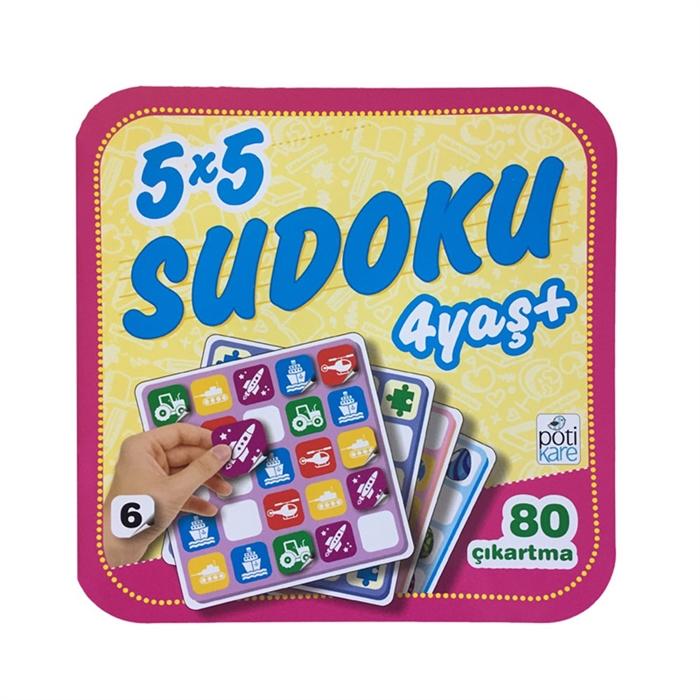 5X5 Sudoku - 6