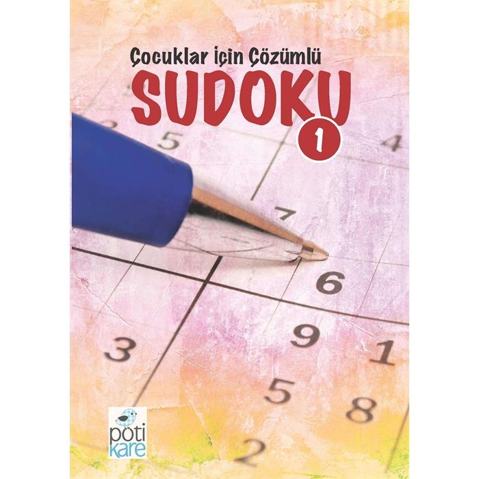 Çocuklar İçin Çözümlü Sudoku - 1