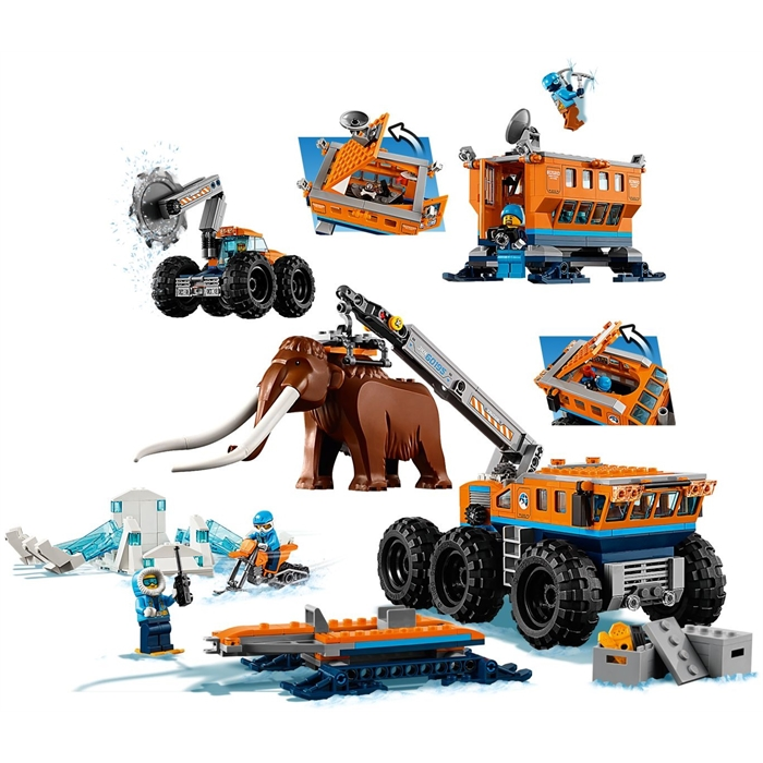 Lego 60195 City Mobile Base