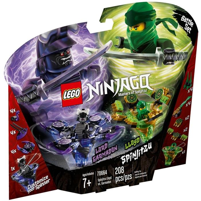 Lego 70664 Ninjago Spinjitzu Lloyd Garmadon