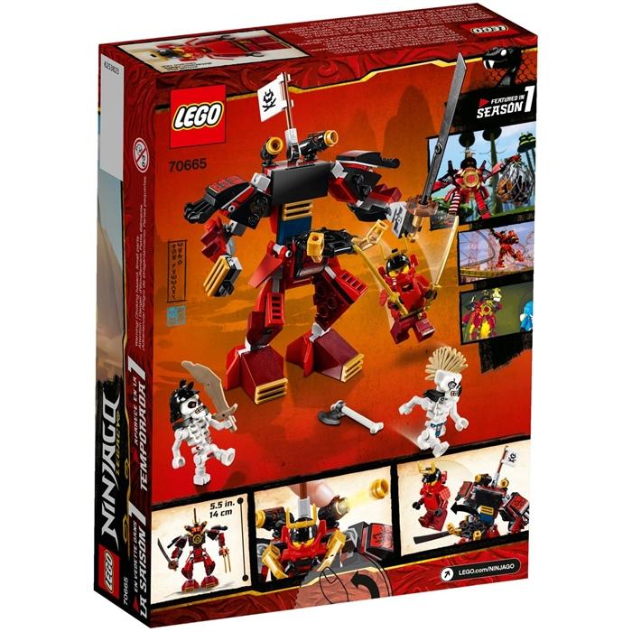 Lego 70665 Ninjago Samurai Mech