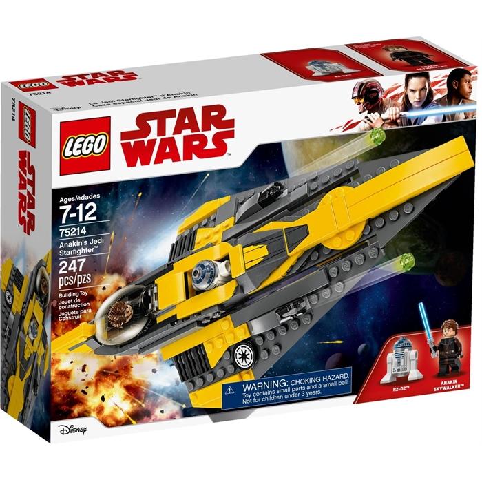 Lego Star Wars 75214 Anakins Jedi Starfighter