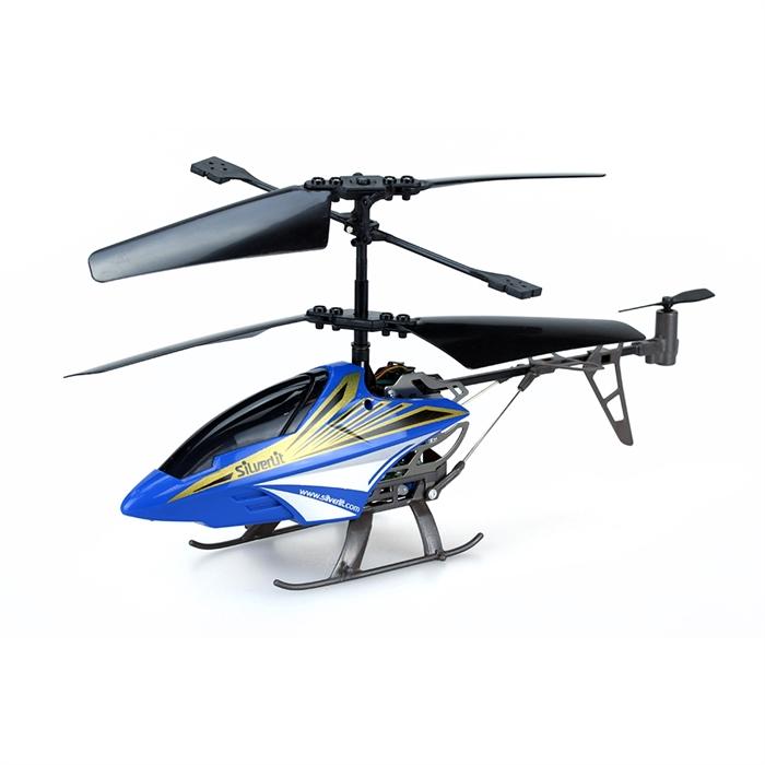 Silverlit Sky Thunderbird U.K. Helikopter Mavi 2.4G - 3CH Gyro