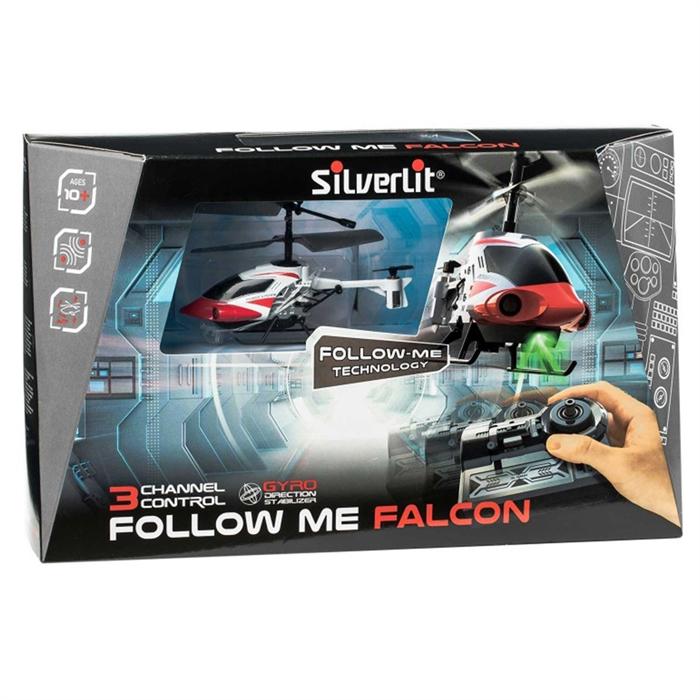 Silverlit Nano Follow Me Falcon 3CH Gyro