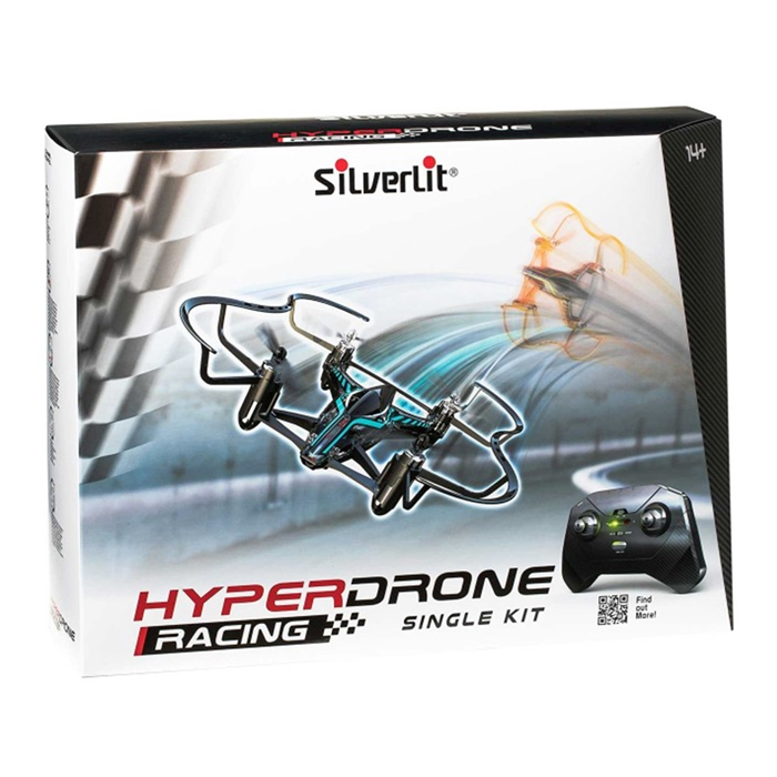 Silverlit HyperDrone Yarış Tekli Kit Gyro Turkuaz-Siyah