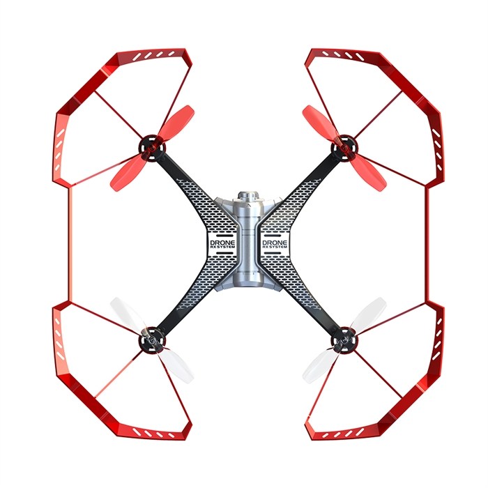 Silverlit Spy Drone II Evolution Kırmızı 2.4G - 4CH Gyro