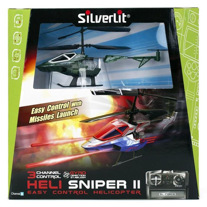 Silverlit Heli Sniper II U.K Helikopter 3CH -2