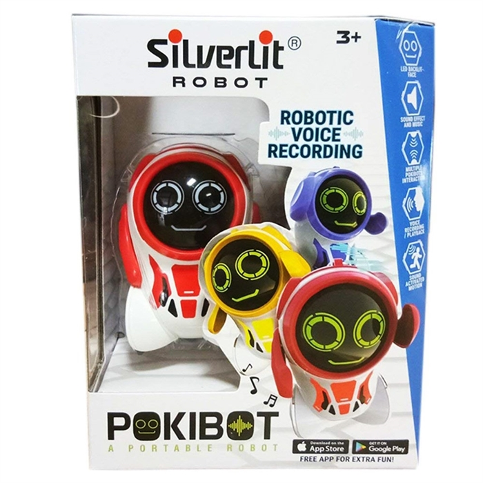 Silverlit Pokibot 88042 Robot Kırmızı