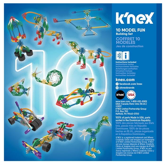 K'Nex Imagine 10 Farklı Model Tasarım Seti