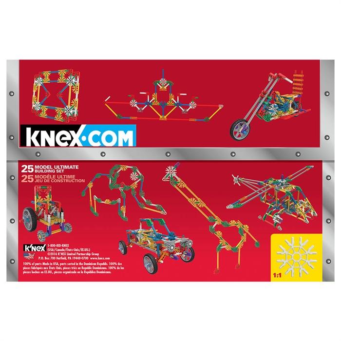 K'Nex Imagine 25 Farklı Model Tasarım Seti