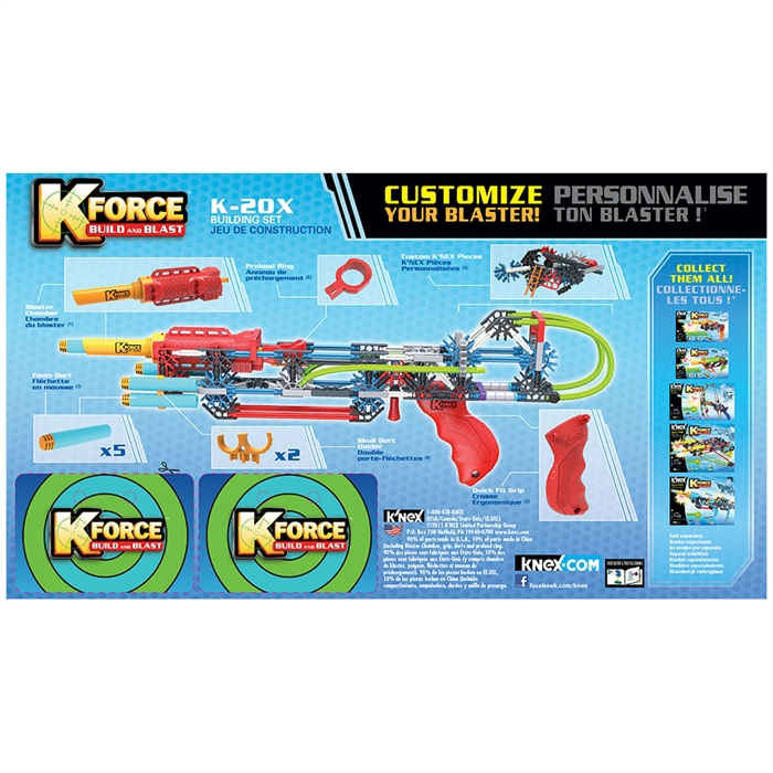 K'Nex K-Force K-20X Yapı Seti Knex 47524