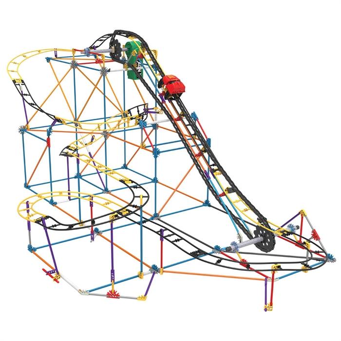 K'Nex Hornet Swarm Roller Coaster Set (Motorlu) Hız Treni