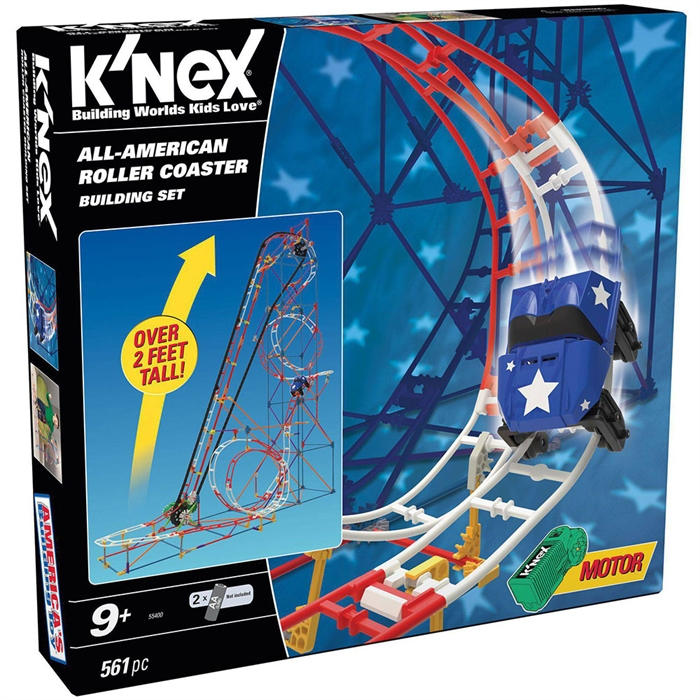 K'Nex All Star Adventure Roller Coaster Seti (Motorlu) Hız Treni