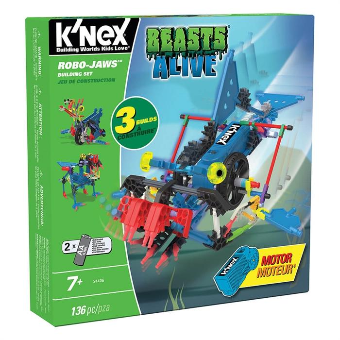 K'Nex Robo-Jaws Yapım Seti (Motorlu) Beasts Alive Serisi