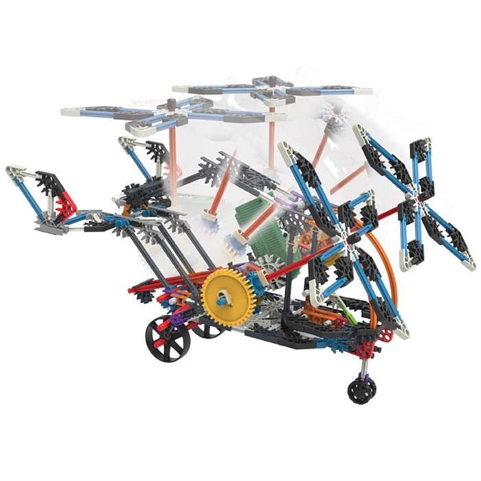 K'Nex Turbo Jet 2 Model (Motorlu) Tasarım Seti