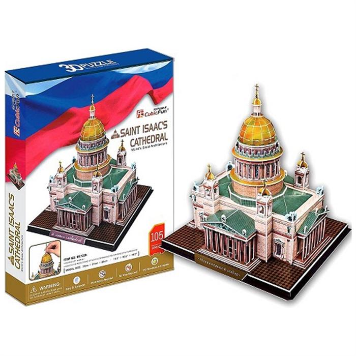 Cubic Fun 3D 105 Parça Puzzle Saint Isaac's Katedrali - Rusya