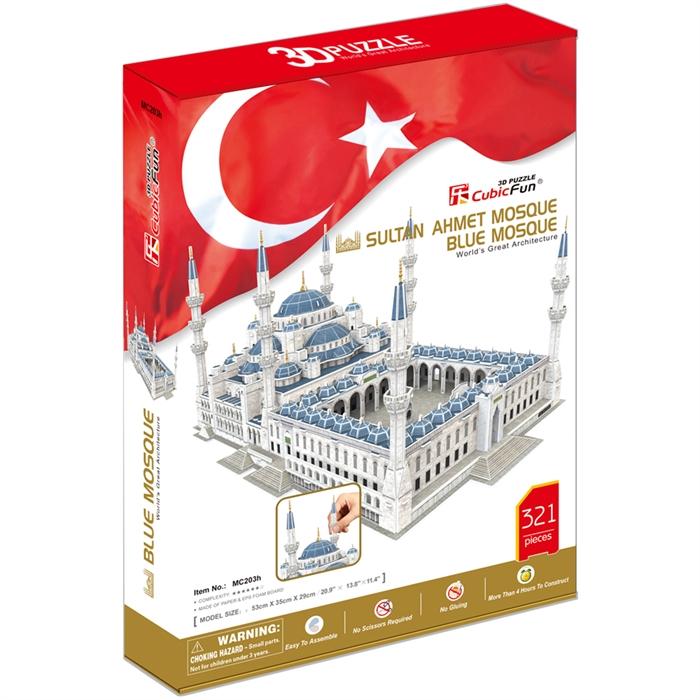 Cubic Fun 3D 321 Parça Puzzle Sultan Ahmet Camii