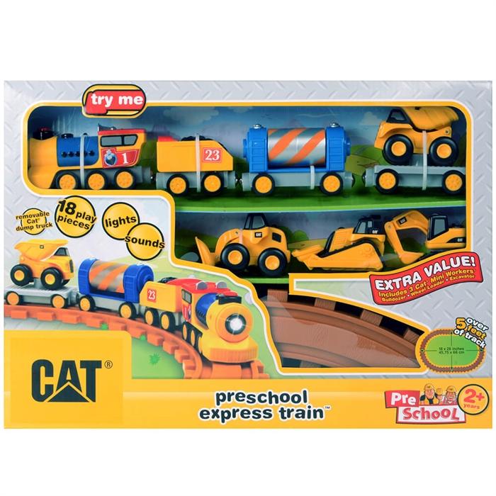 CAT Okul Öncesi Ekspress Treni Oyun Seti
